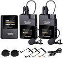 Comica - Microfono Wireless Dual Lavalier HD