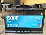 Batteria auto Exide AGM 70ah 760A