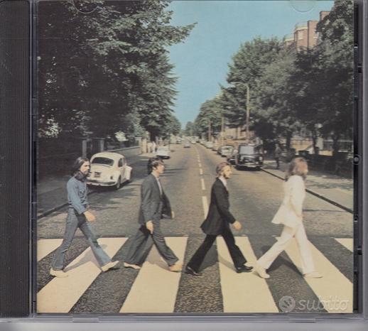 Beatles ABBEY ROAD CD 1987 EMI UK CDP 7 46446 2