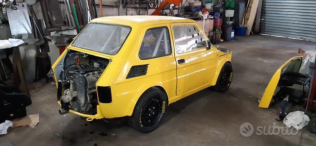 Fiat 126 P1 Slalom Salita