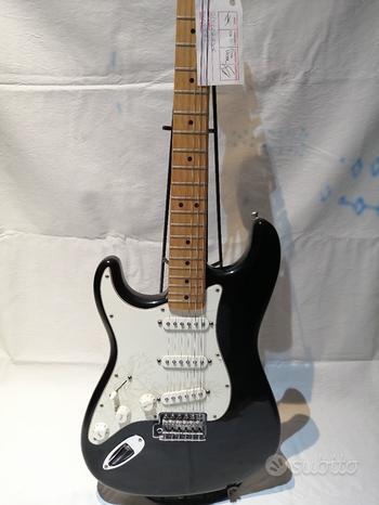 Fender stratocaster mexico (mancina) - mai usata