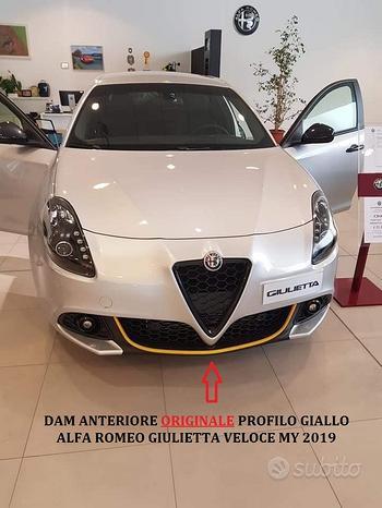 Dam anteriore profilo Giallo ORIGINALE Giulietta