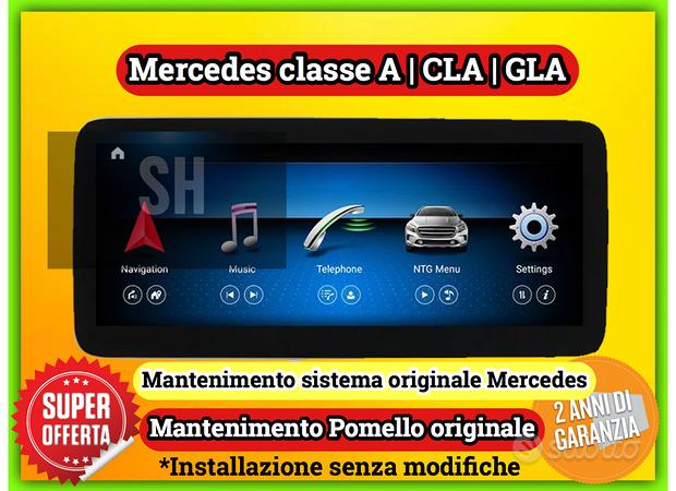 Schermo 10 pollici per Mercedes classe A|GLA|CLA