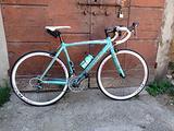 Bicicletta da corsa BIANCHI celeste