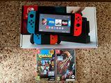 Nintendo Switch con giochi (seriale basso)
