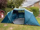 Tenda campeggio ARPENAZ 4.2 | 4 POSTI | 2 CAMERE