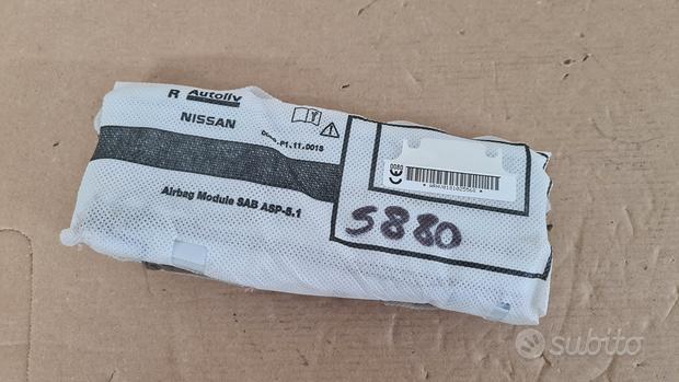 S880 airbag sedile dx nissan qashqai 2018