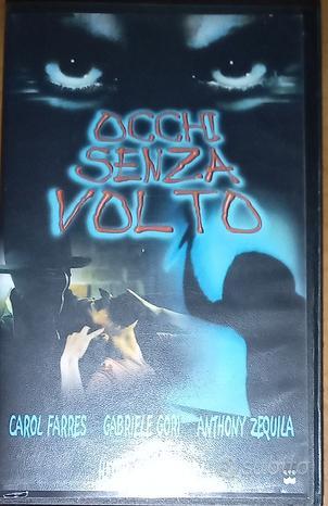 VHS horror thriller italiano rarità