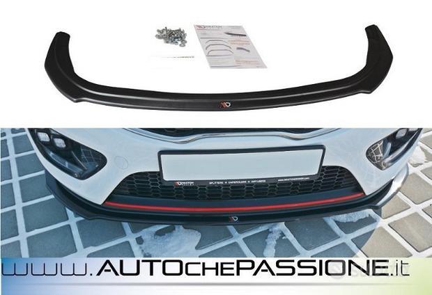Splitter/Spoiler anteriore Kia Cee'd GT Mk2 13>1
