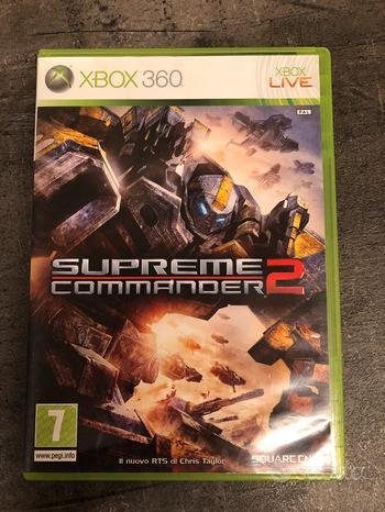 Gioco Supreme Commander 2 x XBox 360