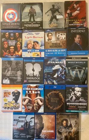 Steelbook, Digibook e Blu Ray