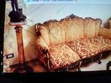 Salotto foglia oro stile Luigi XVI
