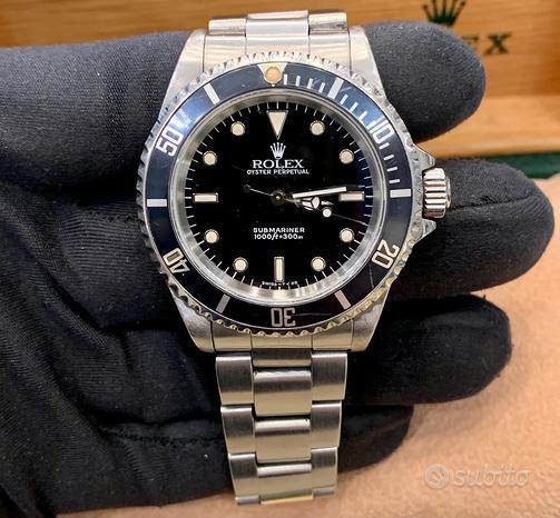 Rolex Submariner 14060 No Date Matt Dial Ghost Bez