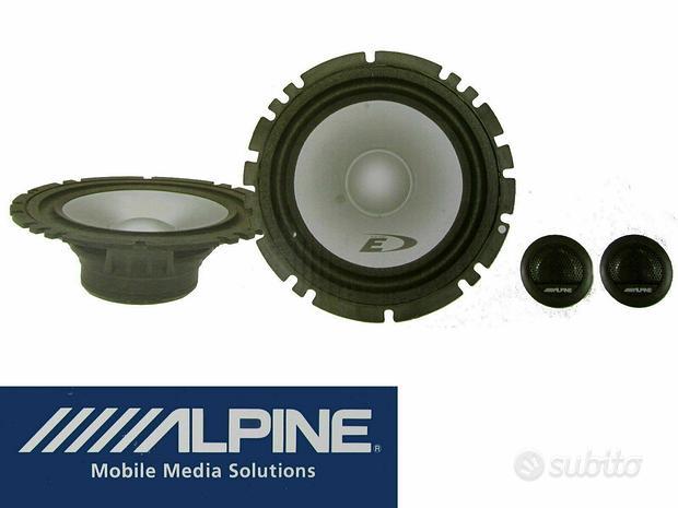 ALPINE SXE-1750S Kit casse 2 Woofer + 2 Tweeter