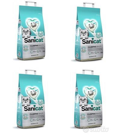 Sanicat Active 4 Sacchi Lettiera Agglomerante