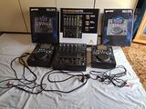 CDJGemini MDJ-500 COPPIA+Mixer Behringer ProDjx750