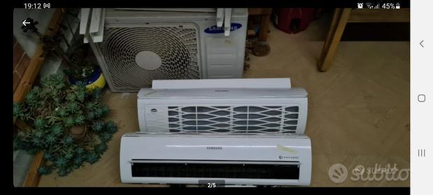2 condizionatori samsung ( dual split) 9000+9000