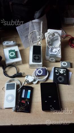 Ipod vari della Apple