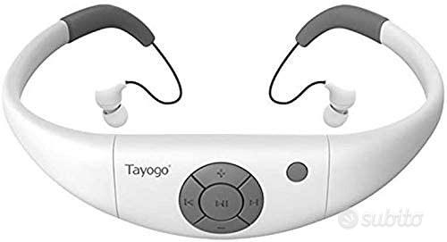 Tayogo Lettore MP3 Subacqueo
