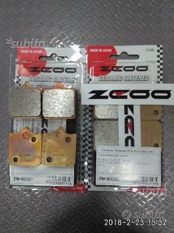 8 Pastiglie Freno Zcoo B003 EX KTM-DUCATI