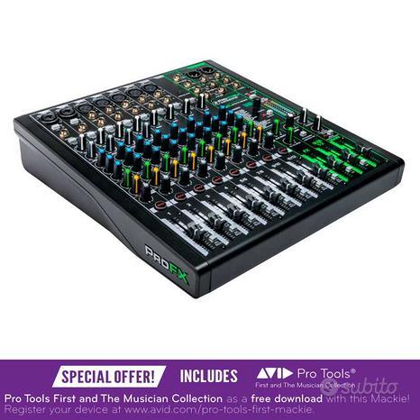 MACKIE ProFX12v3 Mixer con effetti