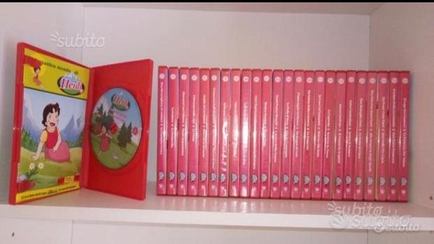 DVD serie completa cartone animato Heidi