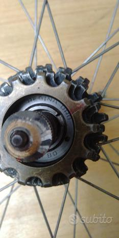 Coppia ruote corsa Rino