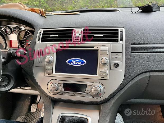 Autoradio navigatore android 10 per ford kuga ecc