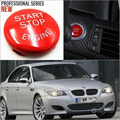 TASTO ACCENSIONE Start ROSSO BMW SERIE 5 E60 E61
