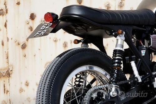 Faro Fanale Luce Fanalino posteriore moto Cafe rac