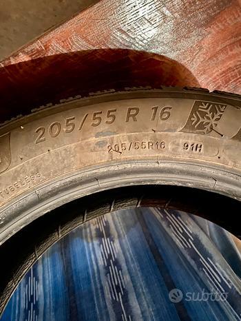 Pneumatici Michelin invernali 205/55/R16 91H