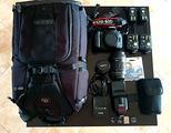 Canon eos 60D - Obiettivi -Flash - Trigger - Zaino