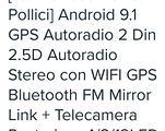 Autoradio android 9 pollici