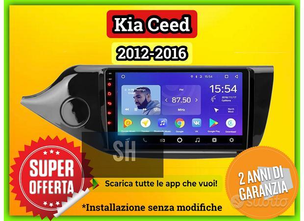 Navigatore touch 9 pollici Kia Ceed 2012-2016