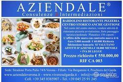 Ristorante pizzeria centro storico anche gestione