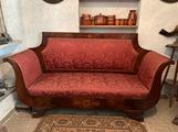 Antichità divano Carlo x