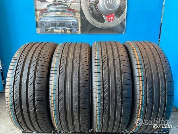 4 Gomme 255/45 R19 e 235/50 R19 Continental 85%res