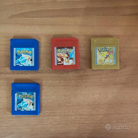 Lotto giochi Pokemon Nintendo Gamboy Color