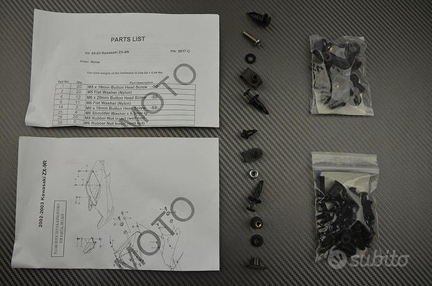 Kit viti ZZR 1400 ZX9R 00 03 NINJA 250R Kawasaki