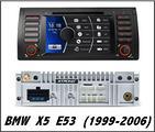Autoradio DVD GPS SD BMW X5 E53 1999 - 2006