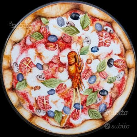 Tavolo in pietra lavica pizzeria cm 50