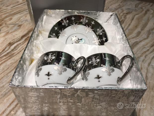 Set di tazzine caffè, composto da due pezzi