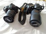 Nikon D5100 e D70 più accessori
