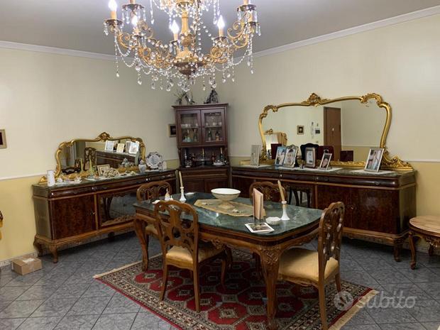Sala da pranzo stile Luigi XVI anni 50'