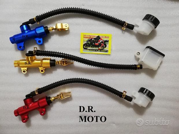Pompa freno posteriore ergal universale moto pit