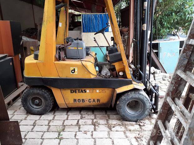 CESAB muletto  diesel  30  quintali detas    per