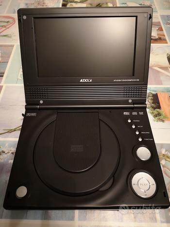DVD portatile con Tv Audiola