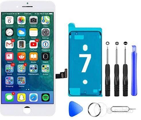 Schermo Iphone 7 schermo lcd touch kit bianco