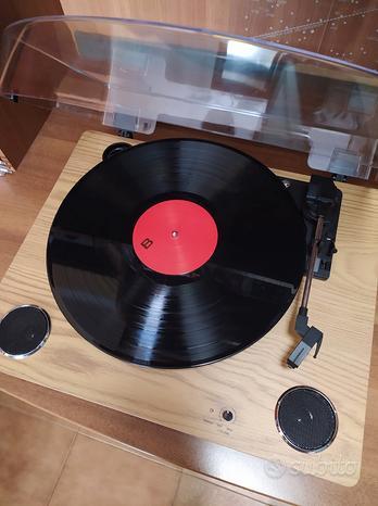 Giradischi + vinile LP