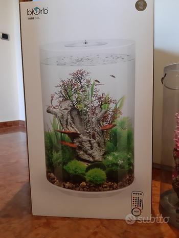 Acquario Biorb tube 30 litri Nuovo